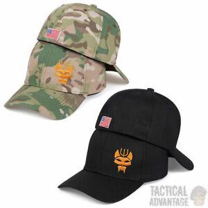Navy Seal Team Baseball Cap Trident Airsoft Seals Hat Multicam Camo Black UK