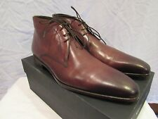Magnanni Massimo Emporio Siena Ankle Boots 3508 Size 10.5 EUC with Box