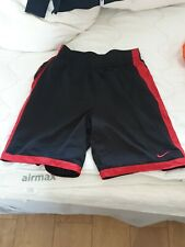 Vintage Nike Basketball/athelti short in black and red with Logo