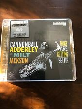 Cannonball Adderley M Jackson Things are Getting Better Super Audio SACD Hybrid