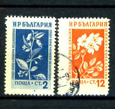 Bulgarien_1953 Mi.Nr. 872-875 Bergblumen