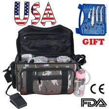 Portable Mobile Dental Unit Treatment Backpack bag Air Compressor handpiece Kit