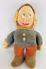 Very early Rare Disney Snow White Dopey Stuffed Doll 13""