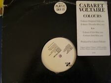 Cabaret Voltaire Colours 4 mixes - US DJ 12""