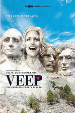 New Sealed Veep - The Complete Fourth Season DVD 4
