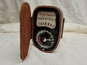 Grey Weston-Master II Light Meter, with Case