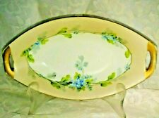 Vintage Imperial Crown China Austria Art Studios Hand Painted Butter Dish