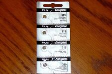 4 Pieces 319 Energizer Watch Batteries  FREE Shipping