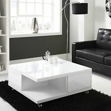 Less than 60cm Height Wooden Square Modern Coffee Tables