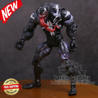 New  Marvel Spider Man Venom  Revoltech Series PVC Action Figure Toy 7inch 18cm