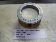 STIHL OEM PT.# 4203 141 0300  AIR FILTER BR320,BR400