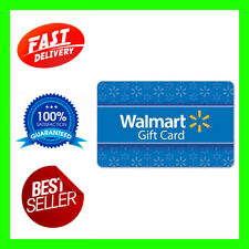 100$ WALMART GIFTCARD USA fast email delivery easy to use no taxes US gift card