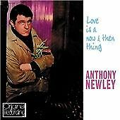 ANTHONY NEWLEY: LOVE IS A NOW AND THEN THING 2011 CD  1960 recording