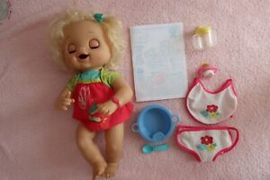 Hasbro Baby Alive 'My Real Baby',2010  Accessories and Instructions