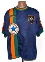 NEWCASTLE UNITED 1997/1998 AWAY FOOTBALL SHIRT JERSEY ADIDAS SIZE S ADULT