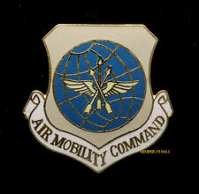 AIR MOBILITY COMMAND AMC HAT LAPEL PIN UP US AIR FORCE USAF VETERAN GIFT VET AFB
