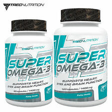 SUPER OMEGA-3 60-180 Caps EPA DHA Deep Sea Fresh Fish Oil Best 1000 mg Softgels