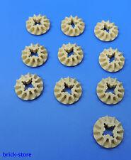 LEGO® technic Nr.- 4540386 / 12 Zähne Zahnrad beige  / 10 Stück