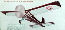 "Vintage MINNIE MAMBO 36"" PLAN + All Parts Patterns For a 1/2A RC Model Airplane"