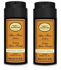 The Art of Shaving Lemon After-Shave Lotion 2PC Set Brand New, Unboxed