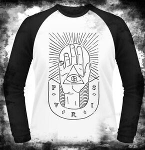 PVRIS Hand White Baseball shirt