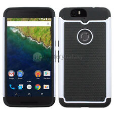 NEW Hybrid Rubber Hard Case for Android Phone Huawei Google Nexus 6 6P 50+SOLD
