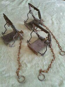 3 x Mk4 FENN TRAP Rat trap used