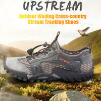 Men's Breathable Outdoor Climbing Water Shoes Non-slip Waterproof Hiking Shoes