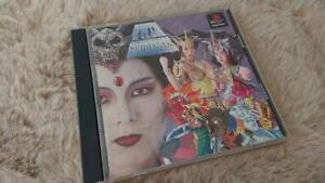PS1 TWIN GODDESSES Gottesu Sony PlayStation 1 Japan Import