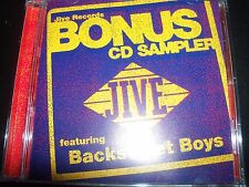 Backstreet Boys Darlin' Live – Jive Records Promo CD Sampler (Britney Spears)