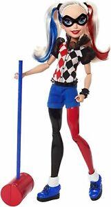 DC Super Hero Girls Harley Quinn 12inch Action Doll Mattel Toy 2015-barbie maker