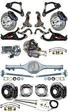 """NEW 2"""" DROP SUSPENSION & WILWOOD BRAKE SET,CURRIE REAR END,ARMS,POSI GEAR,687463"""