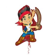 DISNEY JAKE AND THE NEVERLAND PIRATES SUPERSHAPE FOIL BALLOON ANY OCCASION