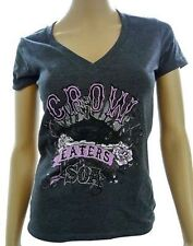 Sons Of Anarchy Crow Eaters Reaper V-Neck Dress Juniors Girls Samcro Soa Shirt M
