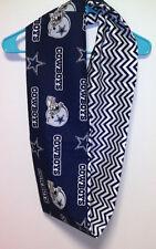Dallas Cowboys Infinity Scarf Women's White Neck Wear Cotton chevron
