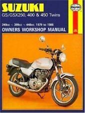 1979 - 1985 Suzuki GS250 GSX250 GSX400 GS450 Twins Haynes Repair Manual 736