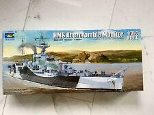 TRUMPETER 1/350 WW II BRITISH HMS ABERCROMBIE MONITOR MODEL KIT ITEM # 05336 F/S