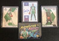 Lot of 4x Tacko Fall - Court Kings Heir Apparent Ruby 61/99, Apprentice Artists