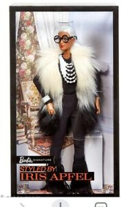 2018 Barbie Collector IRIS APFEL Faux Fur Barbie Doll FWJ27 - BRAND NEW&NRFB!!