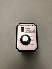 MACROMATIC Time Ranger SS-60228 INTERVAL CYCLE RELAY, PROGRAMMABLE 24 VAC/DC