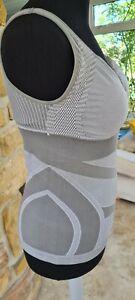 BN Sankom Shapewear Grey Large Tankini Style Firm Support Top 16 18 RRP £91.00
