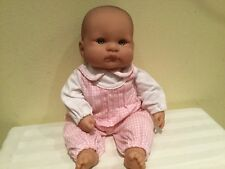 Berenguer Life-Like Baby, Vinyl And Cloth, 16 Inches, Molded Hair, Clean, Euc