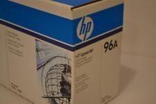 ONE NEW HP 96A BLACK ORIGINAL LASERJET TONER CARTRIDGE, SEALED BOX, C4096A.