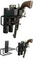Gun Wall Mount Rack Handgun Accessories Hanging Safe Black Vinyl Coated Pistol