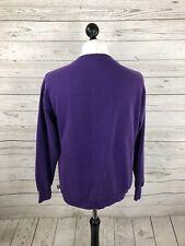 RETRO US COLLEGE Sweatshirt - XL - Purple - Great Condition - Men's