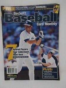 Beckett Baseball Card Monthly September 2002 Issue #210