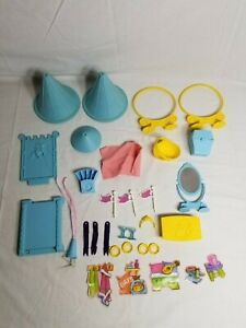 My Little Pony G1 Dream Castle Lot of Accessories Stickers 30+ Pieces
