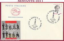 ITALIA FDC CAVALLINO FESTA NAZIONALE DE L'UNITà FIERA DEL MARE 1989 GENOVA U238