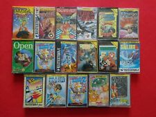 Sinclair ZX Spectrum 17 Games Bundle Cassette 1980s Retro Gaming Lot Collection