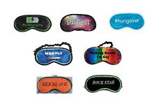 Eyemask (Re-Charging, Spaced Out, #Hungover, Man Flu or Rock Star etc)